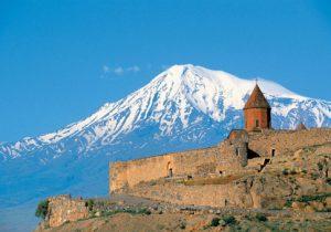 Monastère de Khor Virap avec le mont Ararat