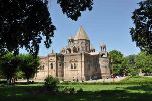 Le dimanche 21 septembre, nous participerons à la Liturgie dans la cathédrale orthodoxe d'Edmjiatsin