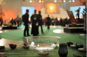Une célébration de renouvellement du baptême a eu lieu durant le culte sur le thème de la mission