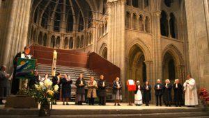 Les douze communautés religieuses du canton de Vaud dans la cathédrale de Lausanne